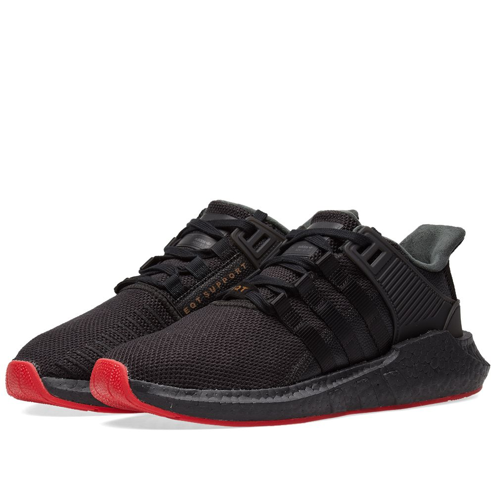 huge discount bbfc9 05e33 Adidas EQT Support 9317 Black  END.