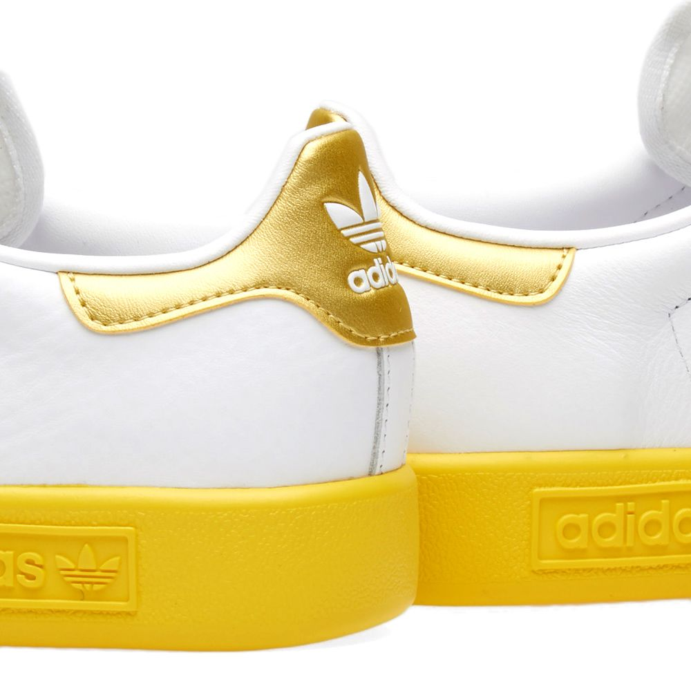 buy online d53ad 8772a Adidas Forest Hills. White, Gold  Yellow