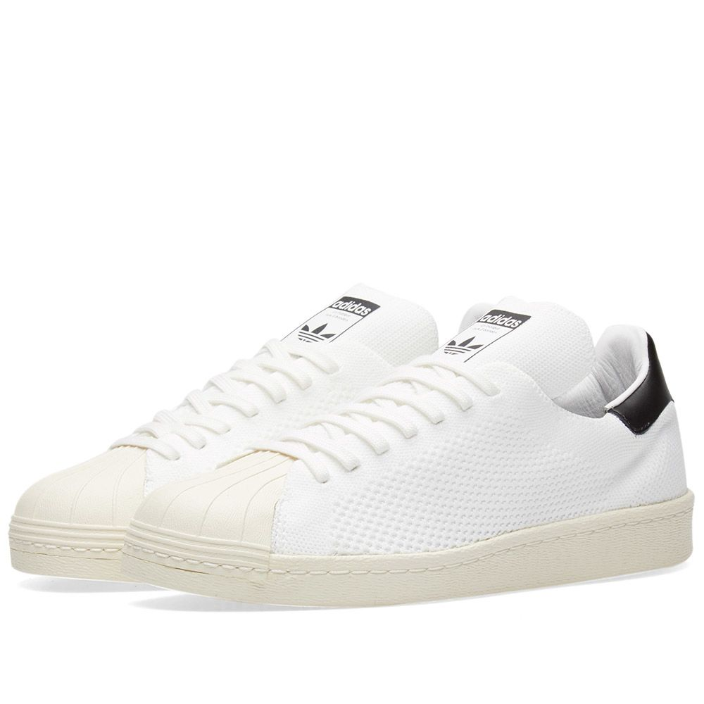 Adidas Superstar 80s PK White   Black  09dd0e95a05