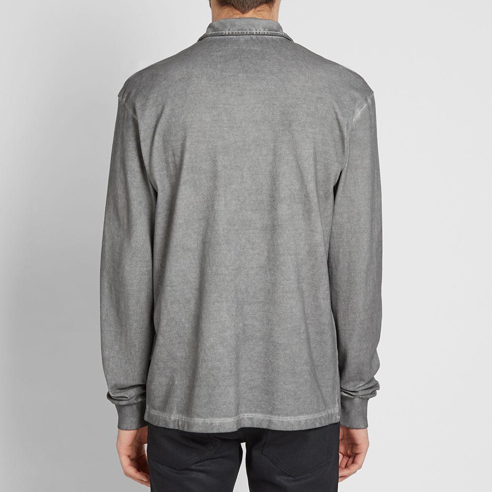 check out fe2f4 ca5e2 A-COLD-WALL Long Sleeve Quarter Zip Polo Medium Grey  END.