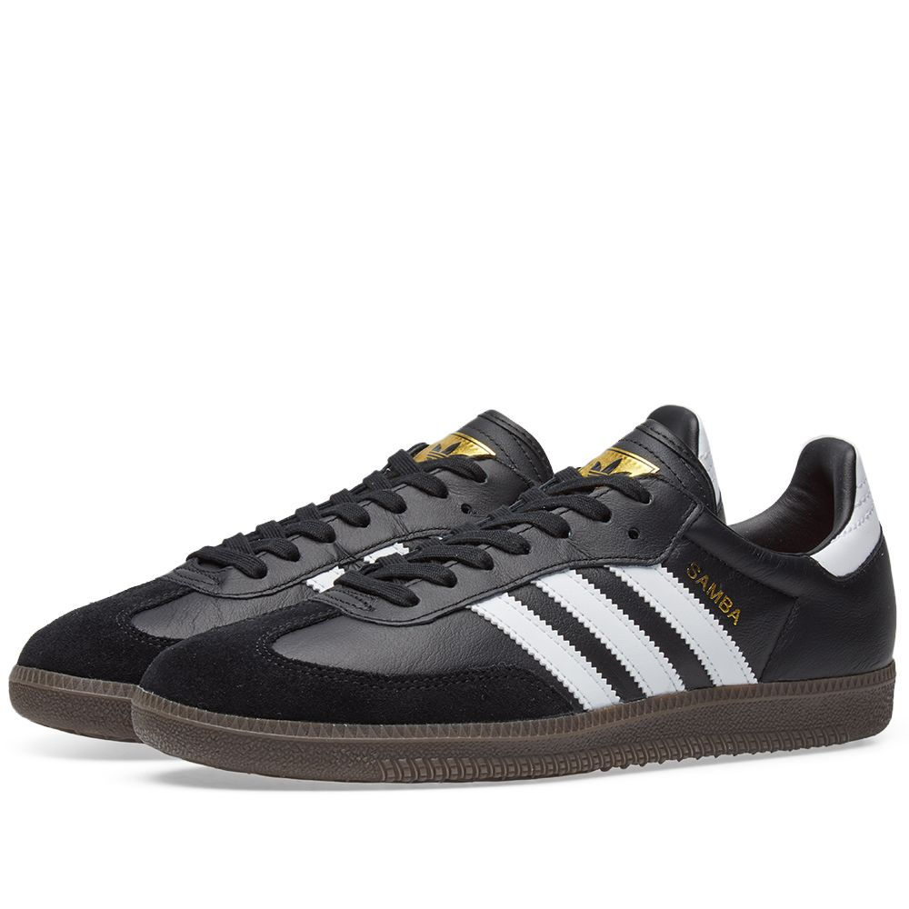 afac1c98880f Adidas Samba FB Black