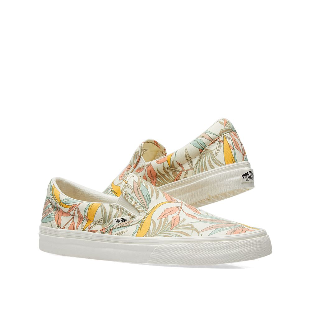 c87331605d1d0a Vans Classic Slip On California Floral Marshmallow