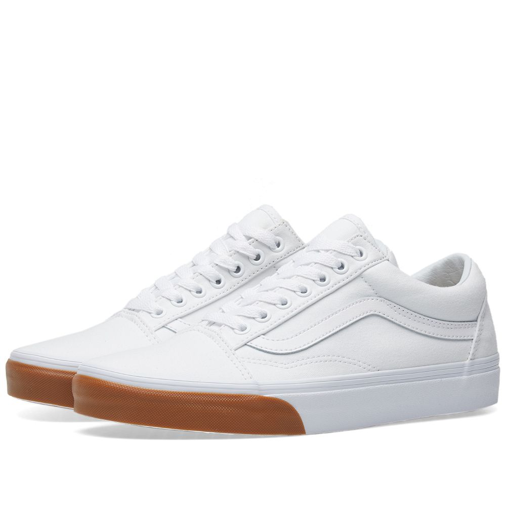 f00f72919e11fa Vans Old Skool True White   Gum Bumper