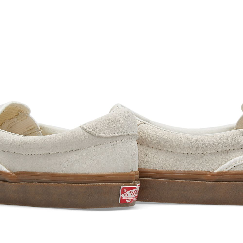 a5f036402f9 Vans Vault OG Slip On 59 LX Sugar Swizzle   Light Gum