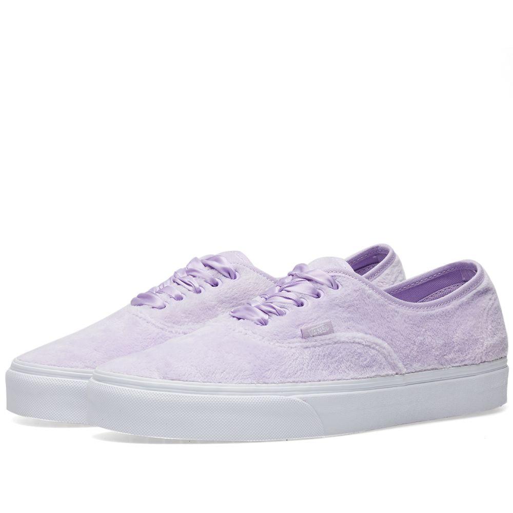 12c2995a1d29 Vans Women s UA Authentic Furry Pastel Lilac