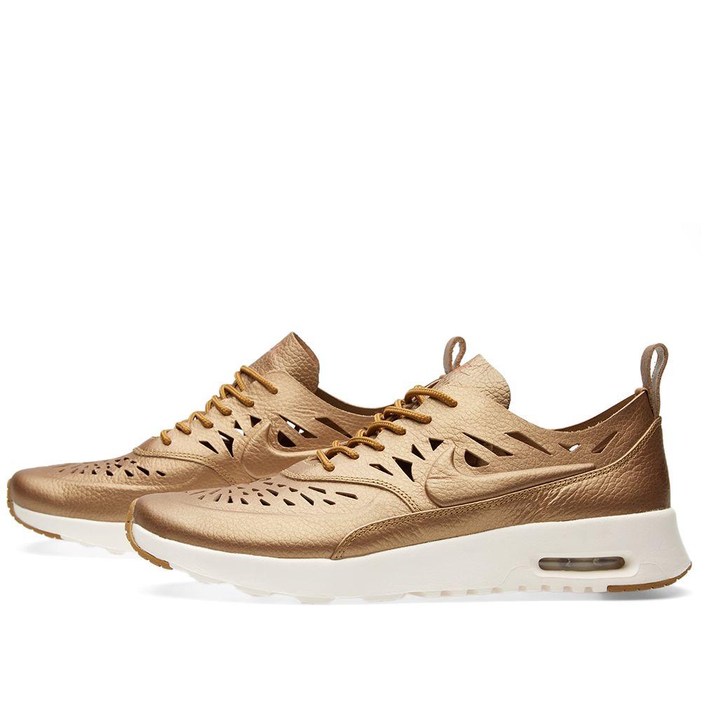 b05b00808d8f Nike W Air Max Thea Joli Metallic Golden Tan