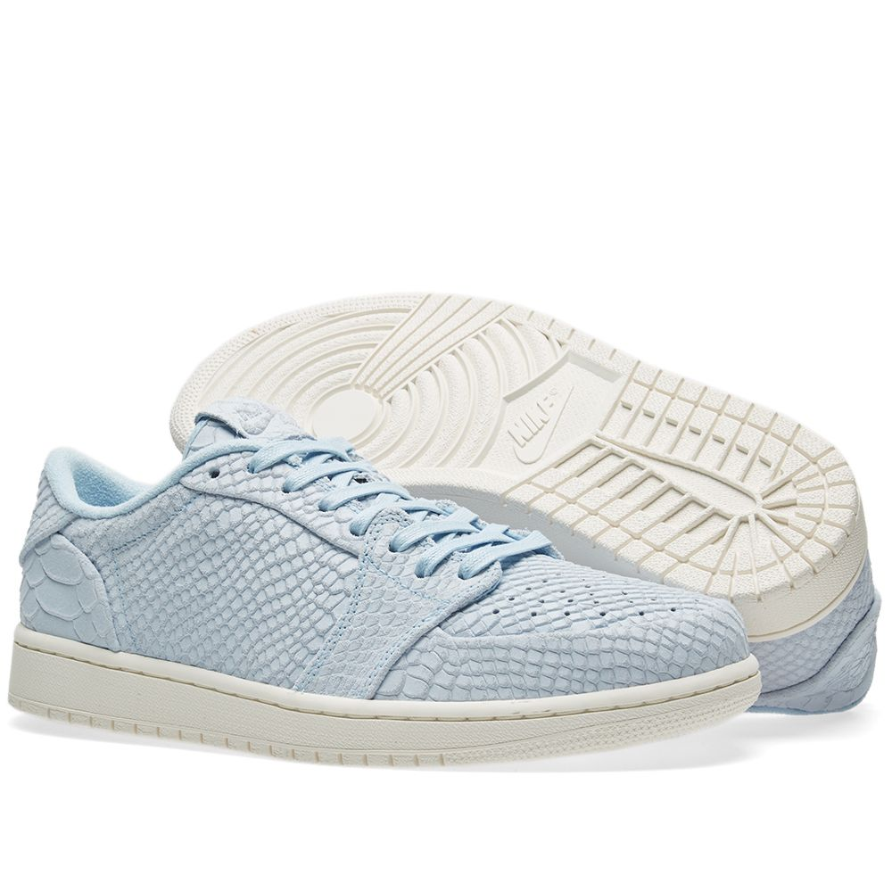80e5171c3e42ba Nike Air Jordan 1 Retro Low Ice Blue Sail