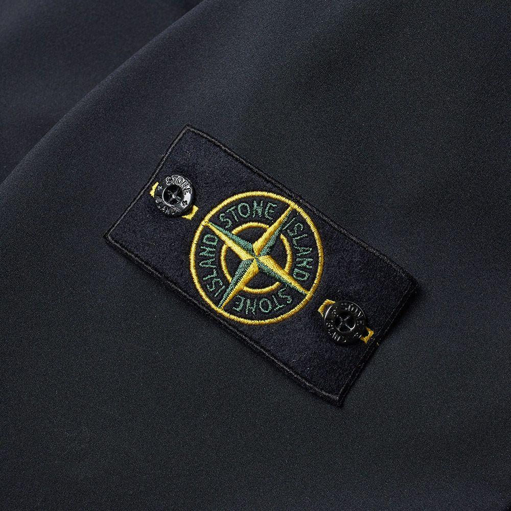 ee1495abc404 Stone Island Soft Shell-R Hooded Jacket Black