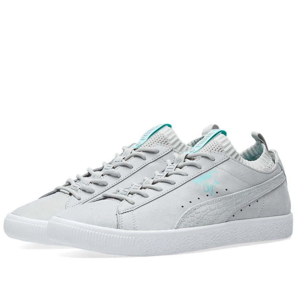 868e6847780 Puma x Diamond Supply Co Clyde Sock Lo Glacier Grey