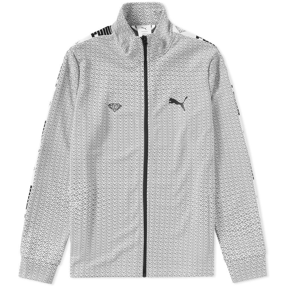 ef3e6c97ce67 Puma x Diamond Track Jacket Puma White