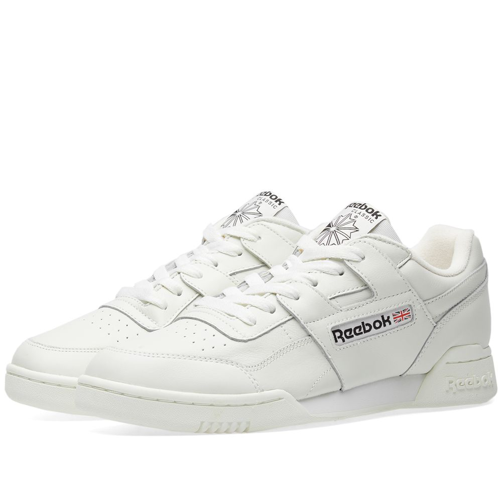 55fd3e9b10af9 Reebok Workout Plus Vintage Chalk   Black