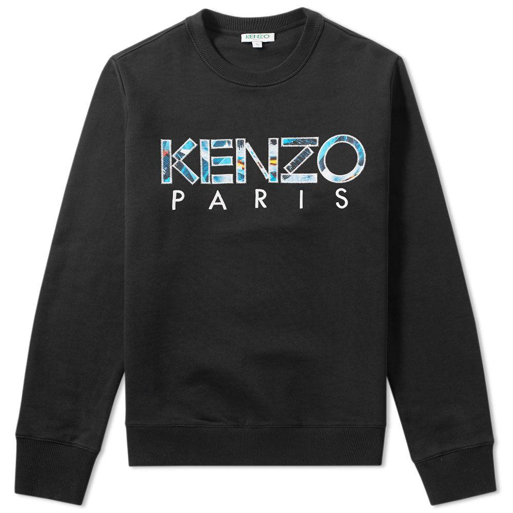 66a374c7764 Kenzo Paris Crew Sweat Black