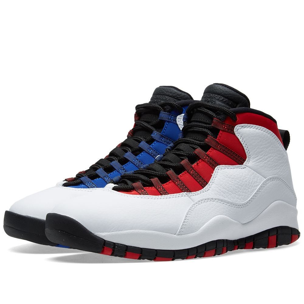 new arrival 19a12 fe508 red and black jordan 10s