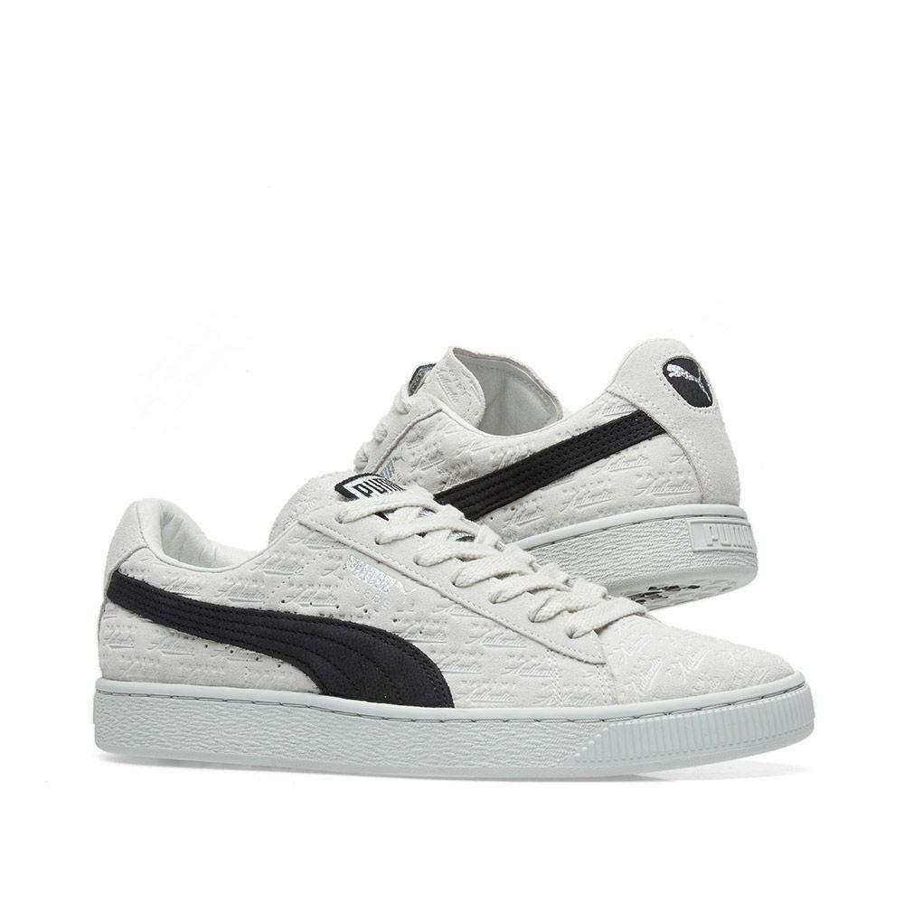 Puma x Panini Suede Classic White   Black  178fe161d
