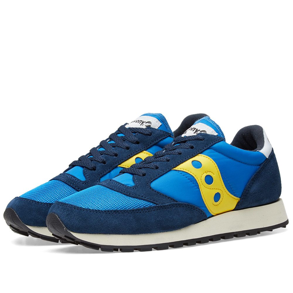 Saucony Jazz Original Vintage Blue   Yellow  e555aebdde78