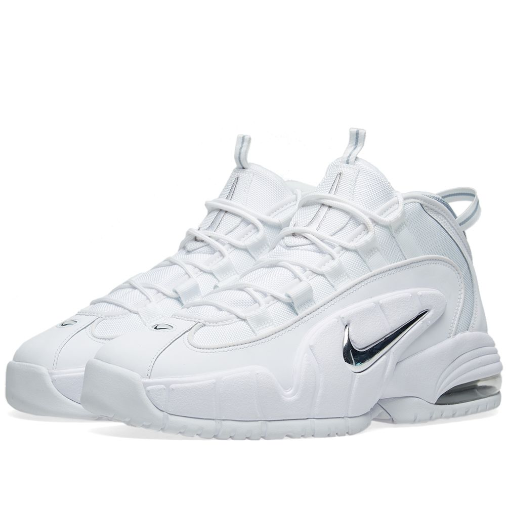 3a67ce50f1ed12 Nike Air Max Penny White   Metallic Silver