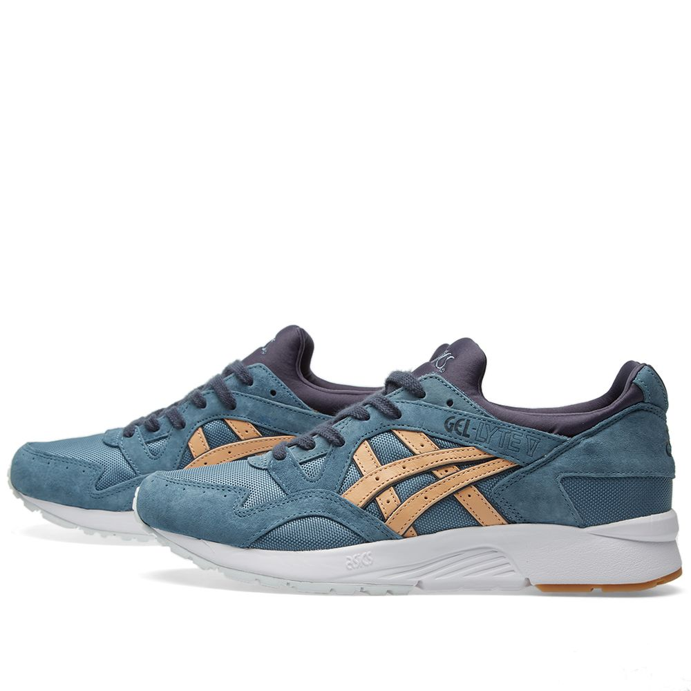 cheap for discount 9265f ae0f3 Asics Gel Lyte V Blue Mirage & Sand | END.