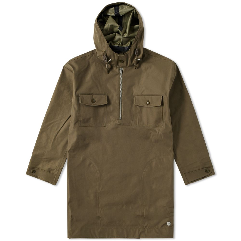 199e06b46fa0 Nigel Cabourn x Peak Performance Snow Smock Army