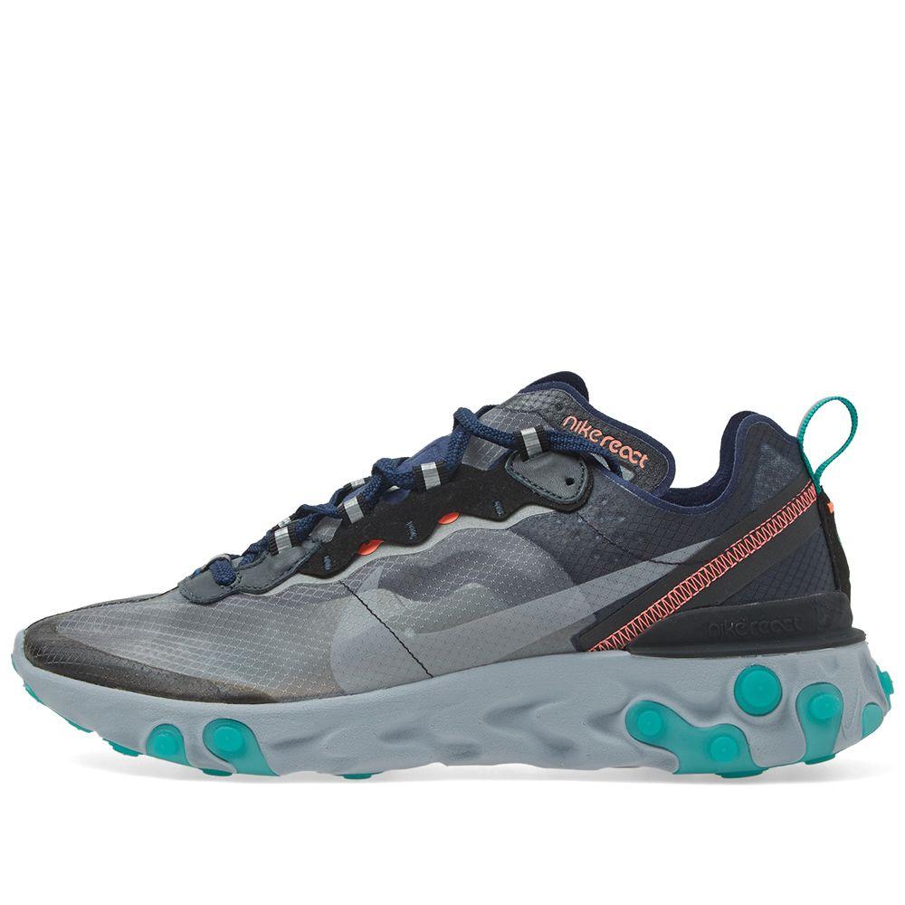 34a534dbafa1 Nike React Element 87 Black