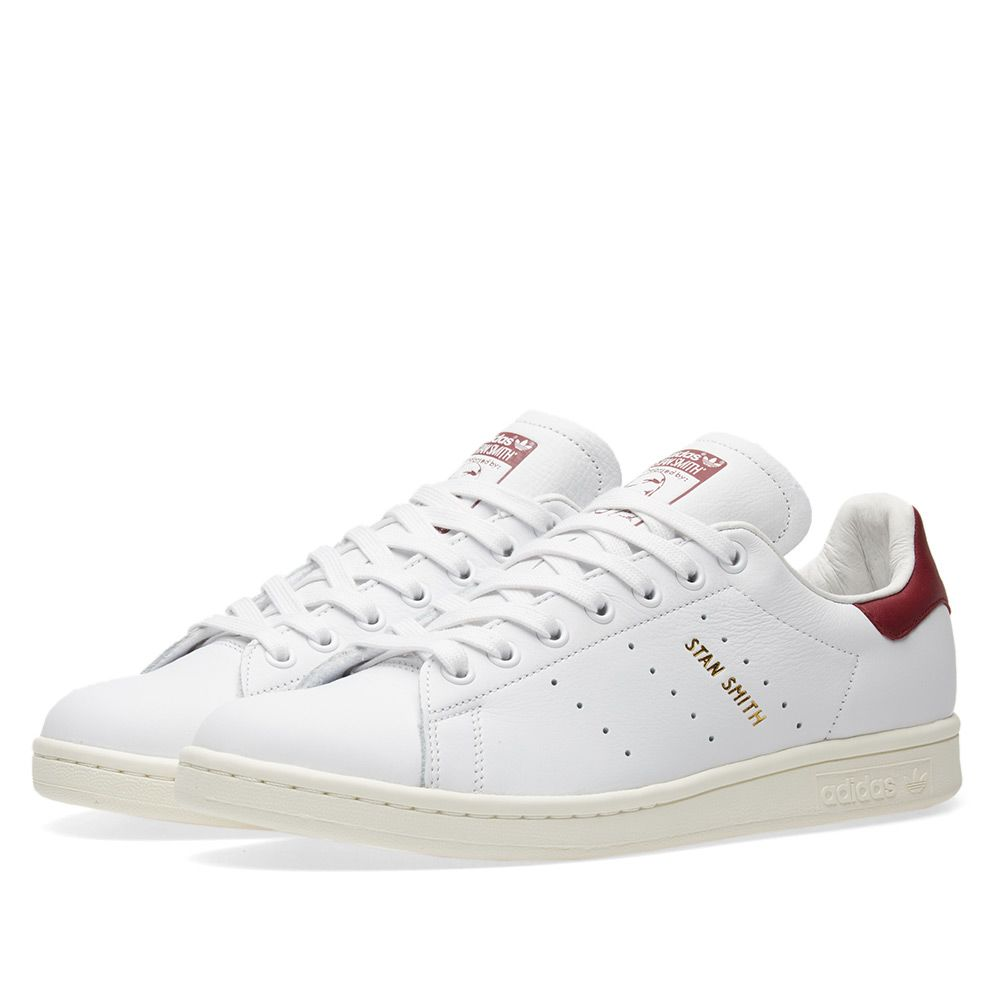 promo code 6007a 27115 Adidas Stan Smith White  Collegiate Burgundy  END.