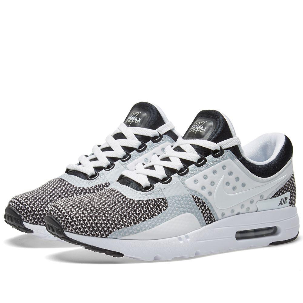 f7ad2e7048 Nike Air Max Zero Essential Black, White & Wolf Grey | END.