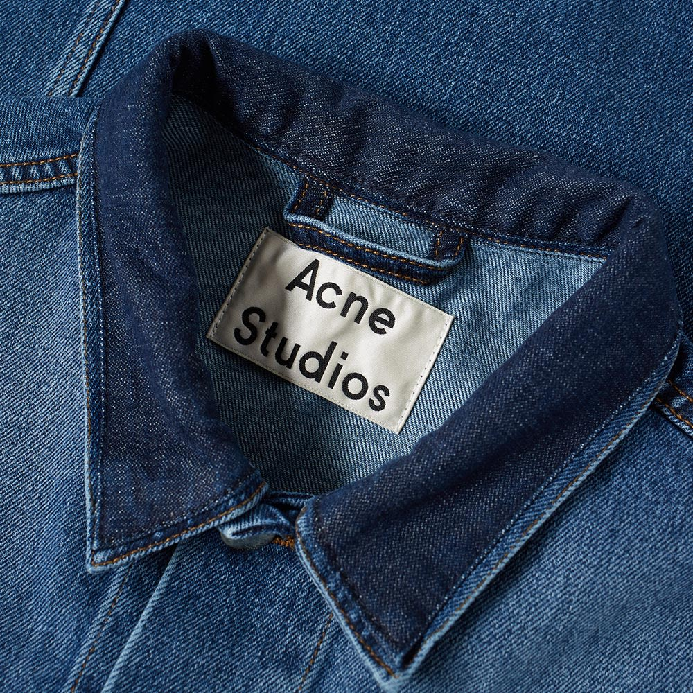 ea4a64f09a Acne Studios Who Denim Patch Jacket Indigo
