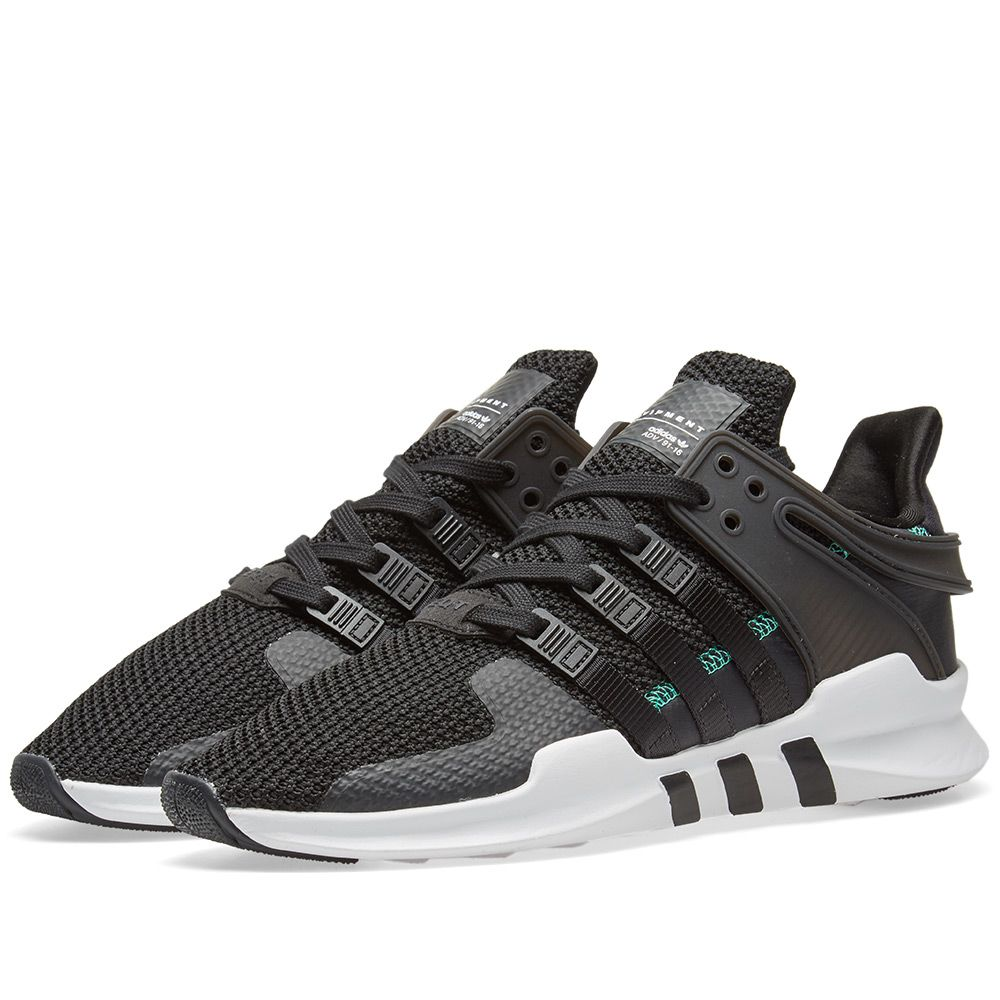outlet store 5cf8d b476a Adidas EQT Support ADV Ripstop Black, Green  White  END.
