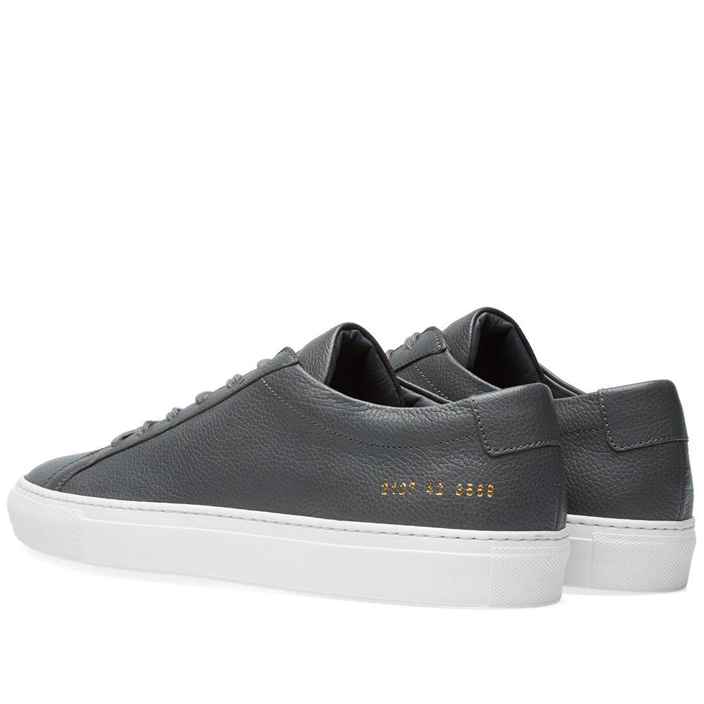 25e75605be2ee Common Projects Original Achilles Low Premium Dark Grey