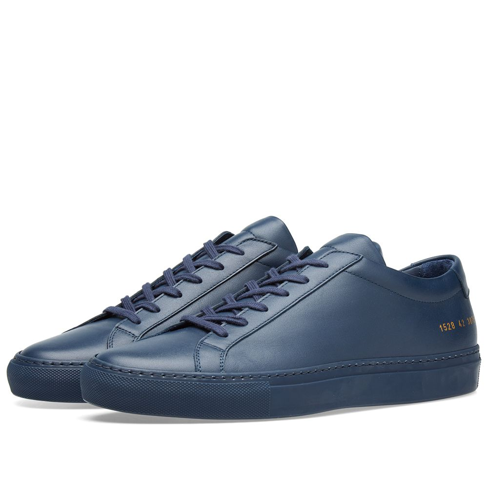 ae24690e84992 Common Projects Original Achilles Low Navy