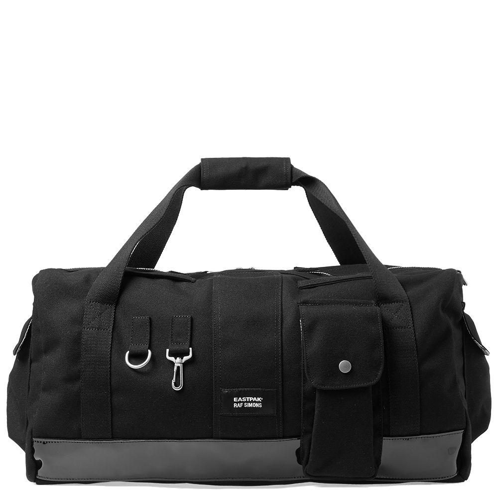 f9cb1f1cb5 Eastpak x Raf Simons Duffel Bag Black Canvas