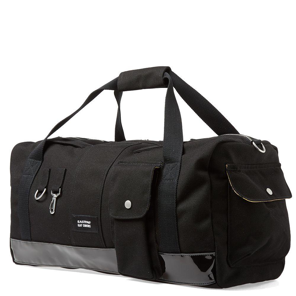 89eaa31cf6 Eastpak x Raf Simons Duffel Bag Black Canvas