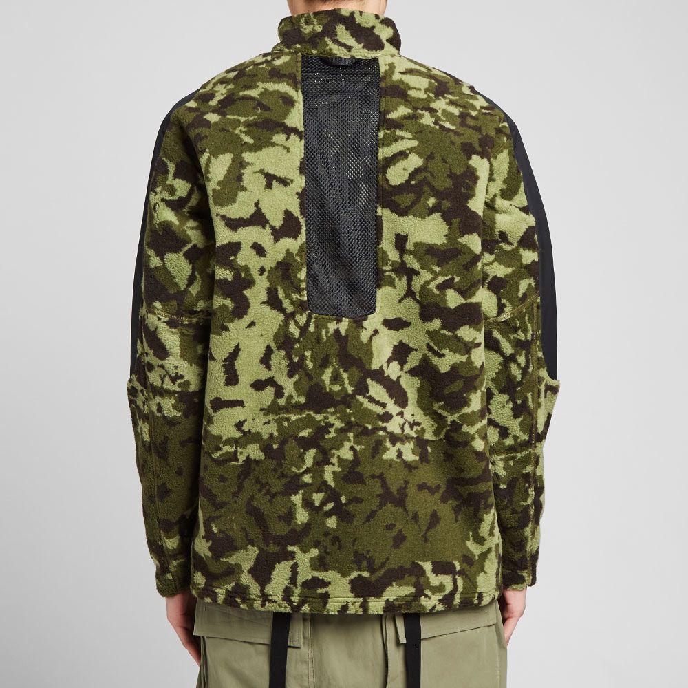 Nike x Matthew Williams Beryllium Fleece Jacket Black  a77ee61f9