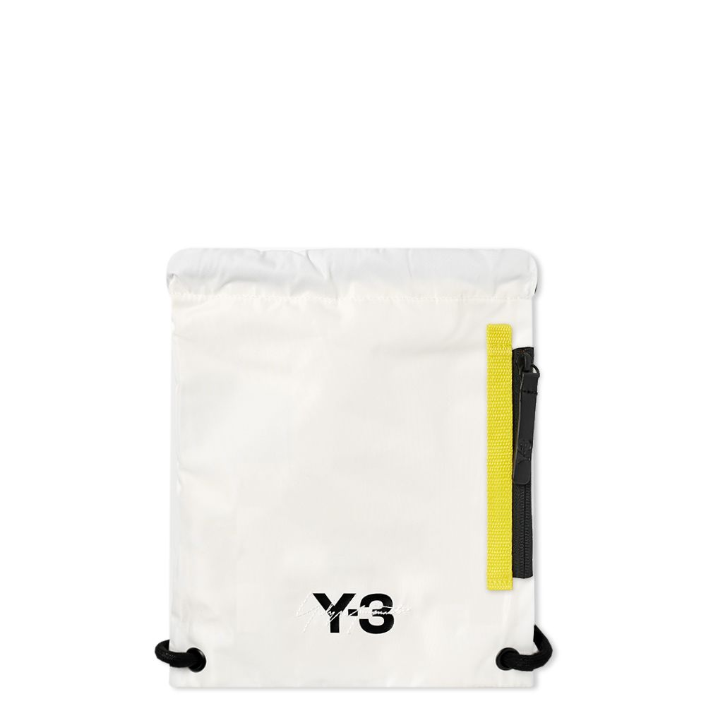 ed40aecac348 Y-3 Mini Gym Bag White