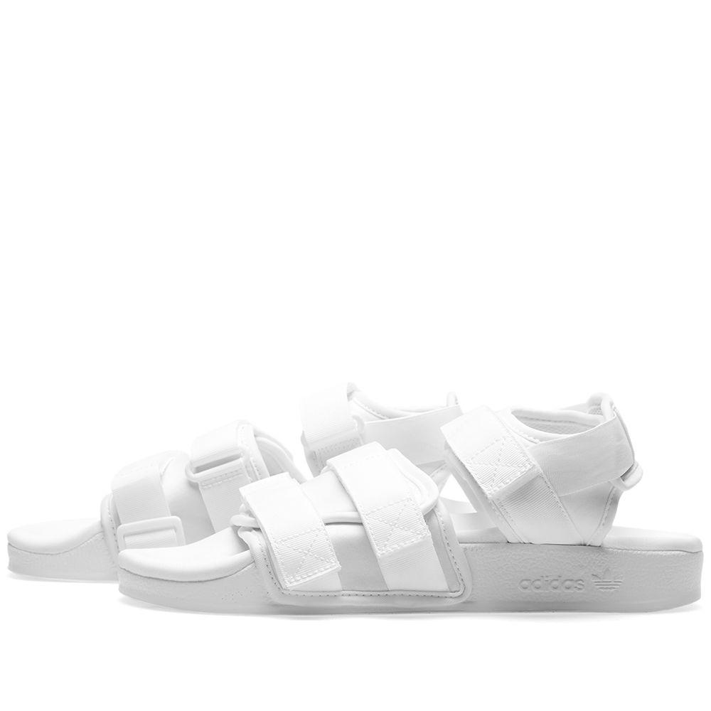 8bdb98468dfb Adidas Women s Adilette Sandal W White