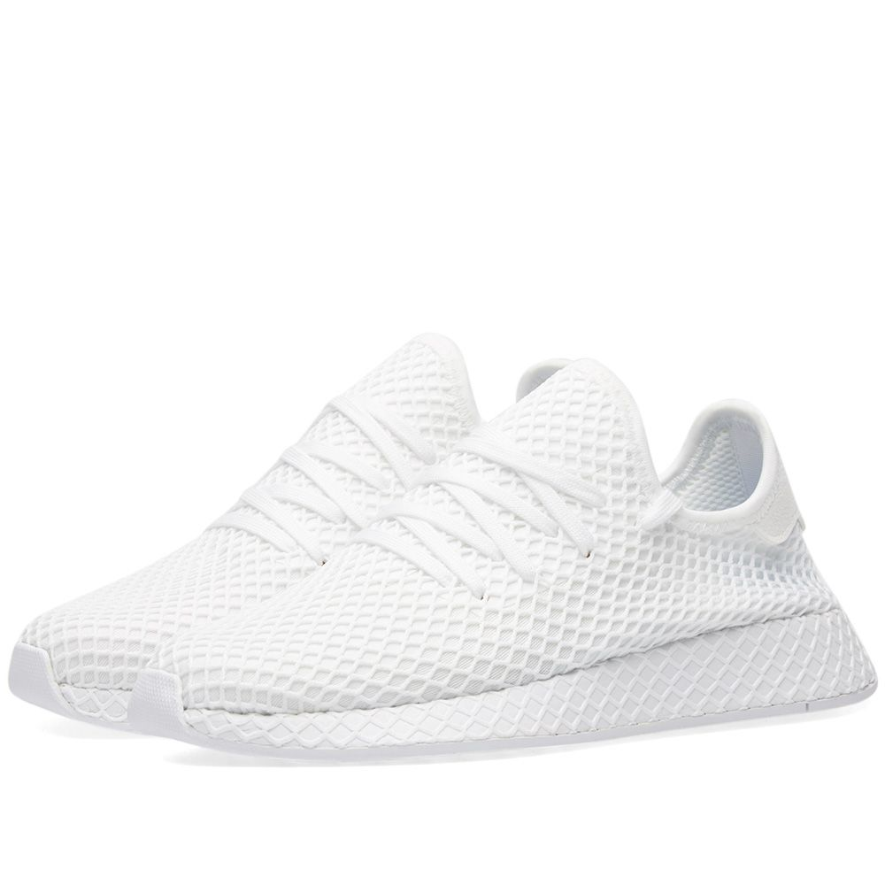 huge discount b2366 48d5d Adidas Deerupt Runner White  END.