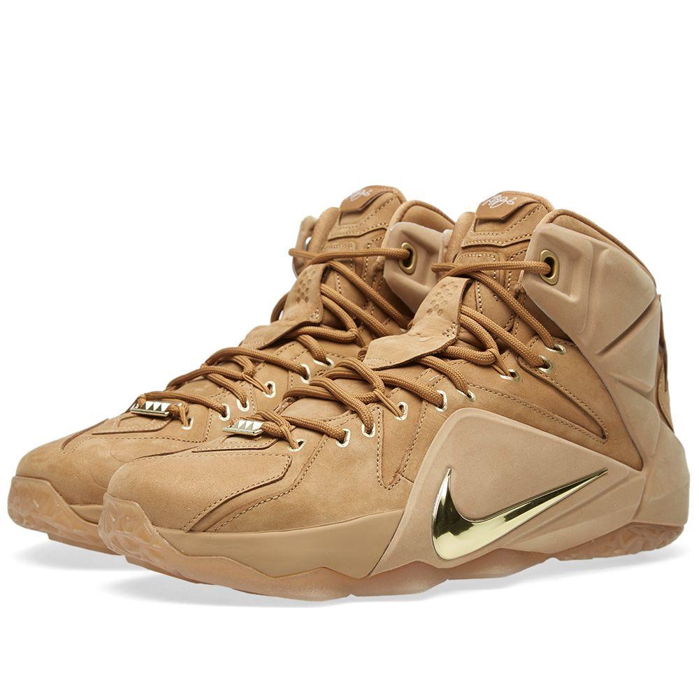 3600018f520f Nike LeBron EXT QS  Wheat  Wheat   Metallic Gold