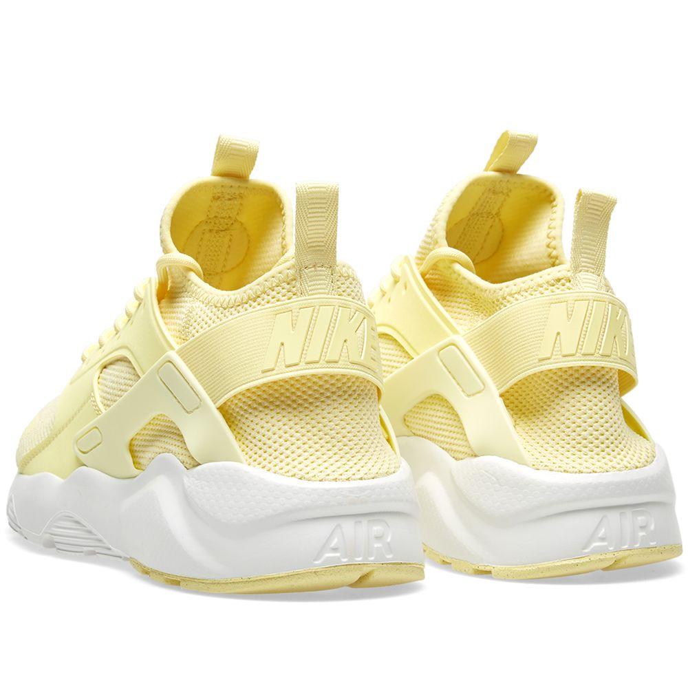 417a02719605 Nike Air Huarache Run Ultra BR Lemon Chiffon   Summit White