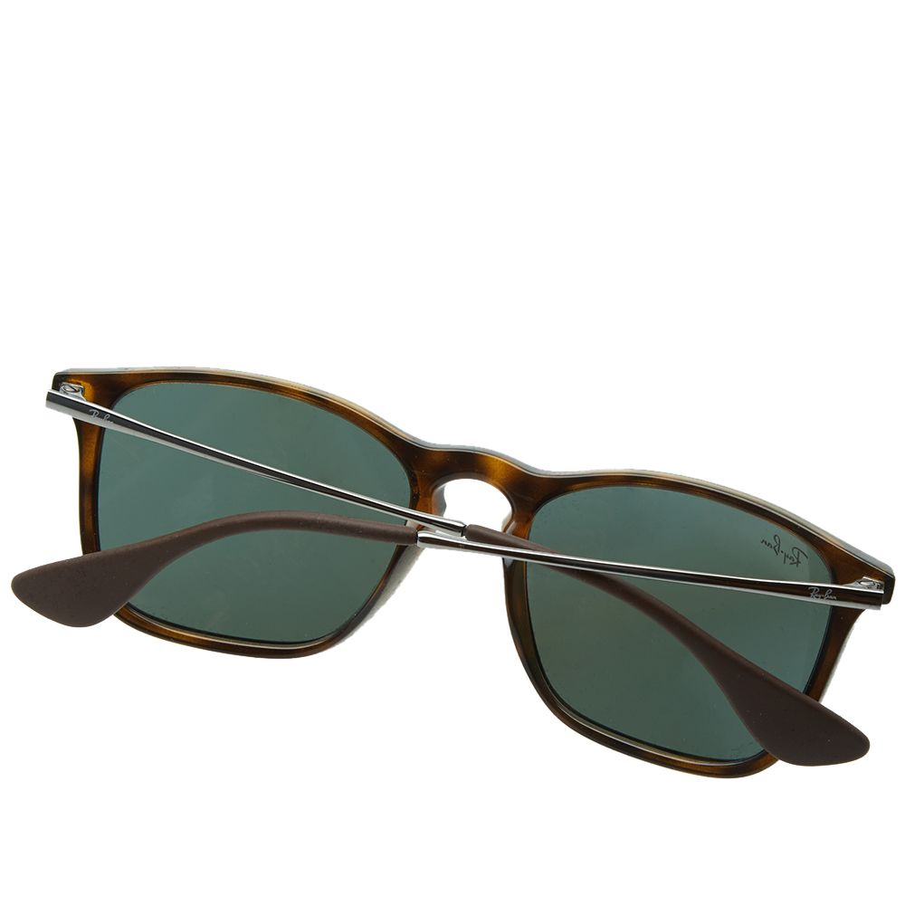 ea5b8c87b40 Ray Ban Chris Sunglasses Light Havana   Green