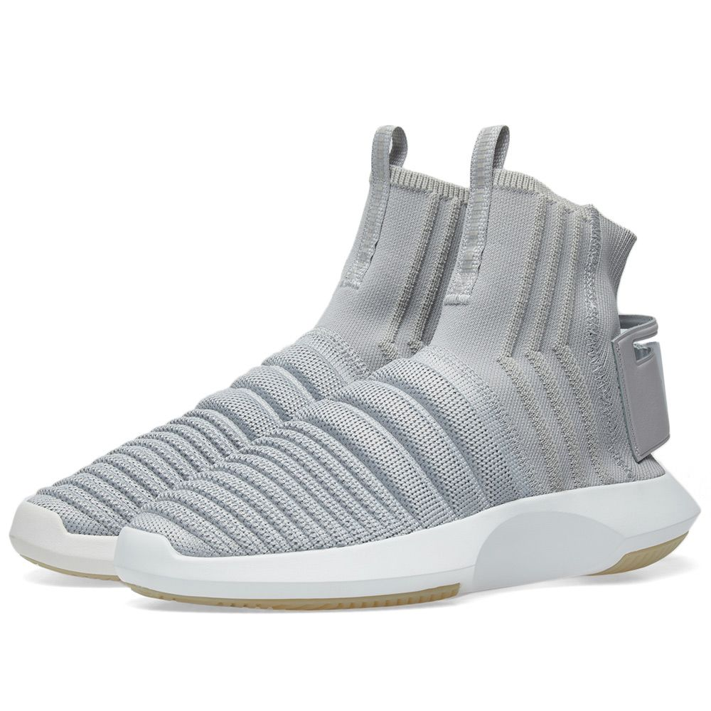 769670f8e213 Adidas Crazy 1 ADV Sock PK Grey Two   Purple