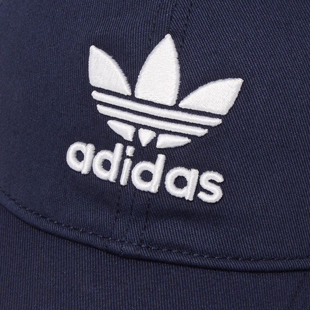 073b606304e Adidas Trefoil Cap Collegiate Navy   White