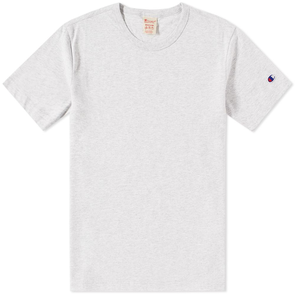 f5204428b Champion Reverse Weave Classic Tee Grey Marl | END.