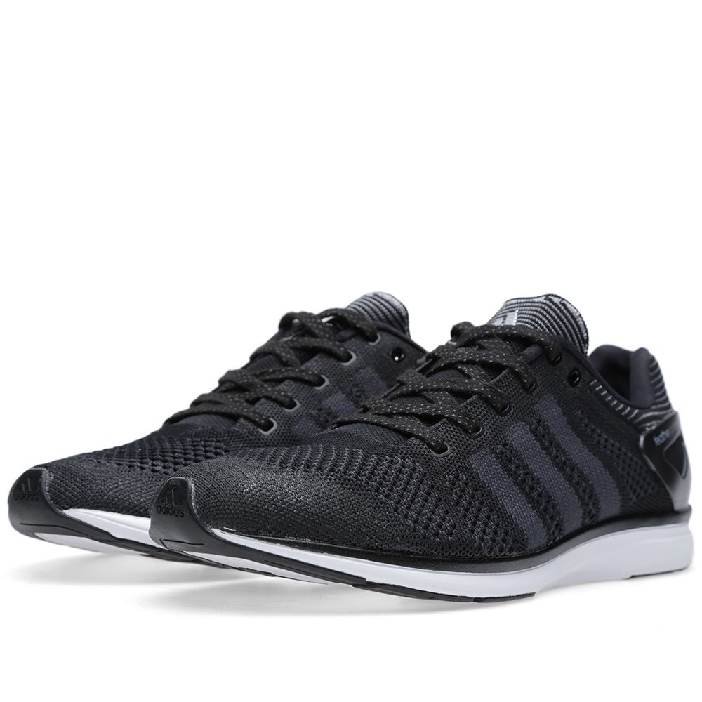 meet 6b647 a03dc Adidas Adizero Feather Primeknit. Black  Phantom