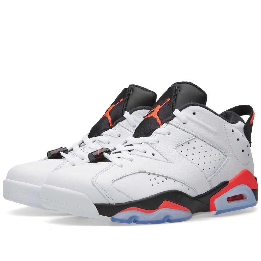 Nike Air Jordan 6 Retro Low. White 142d91d0e741