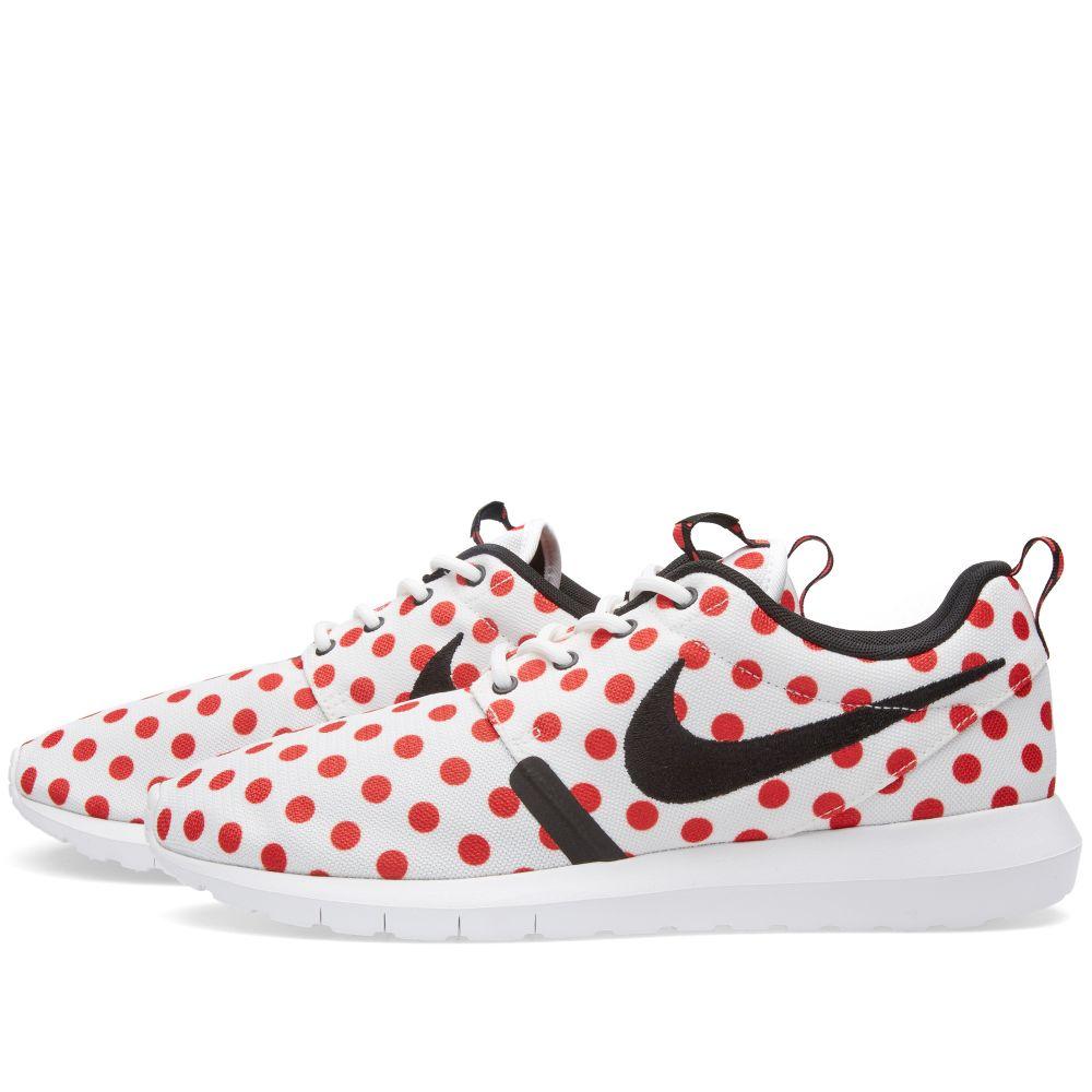 884e444e4079 Nike Roshe NM QS  Polka Dot  White