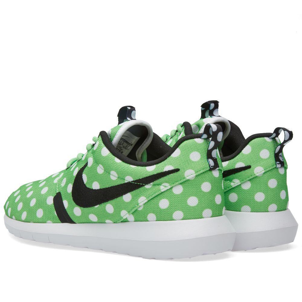 brand new 0595b 7038f Nike Roshe NM QS  Polka Dot  Green Strike, Black   White   END.