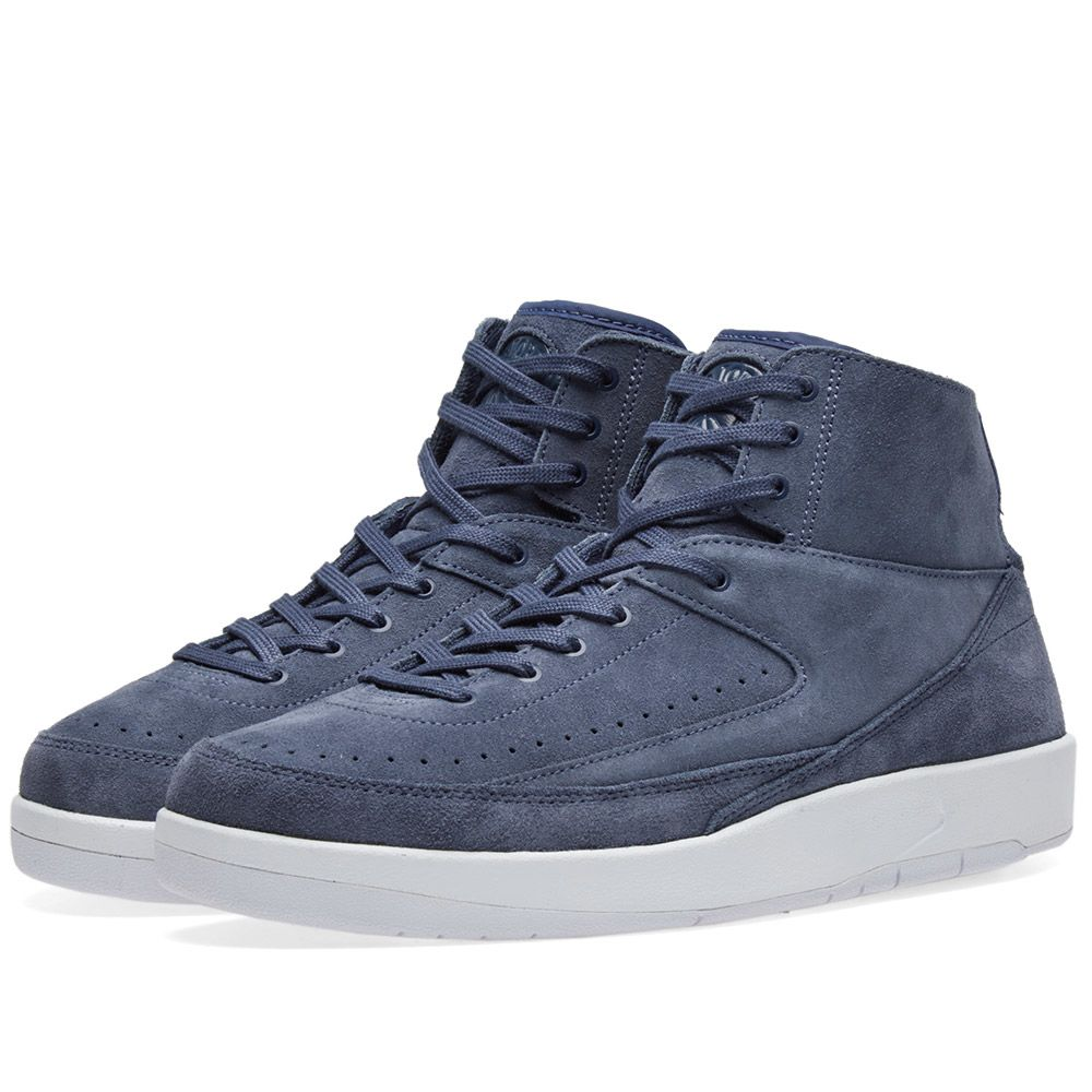 official photos 5dd23 30661 Nike Air Jordan 2 Retro Decon Thunder Blue   White   END.