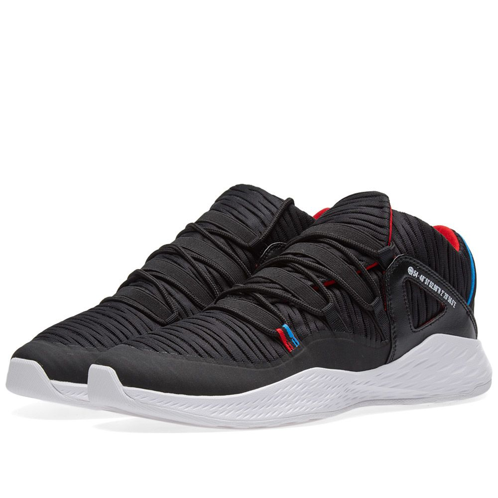 new arrival bf056 54a49 Nike Air Jordan Formula 23 Low Q54 Black, Italy Blue  Red  E