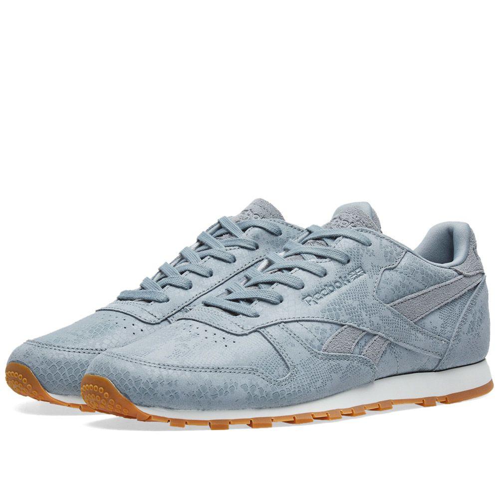 539d45d67287 Reebok Classic Leather  Clean Exotics  W Flint Grey