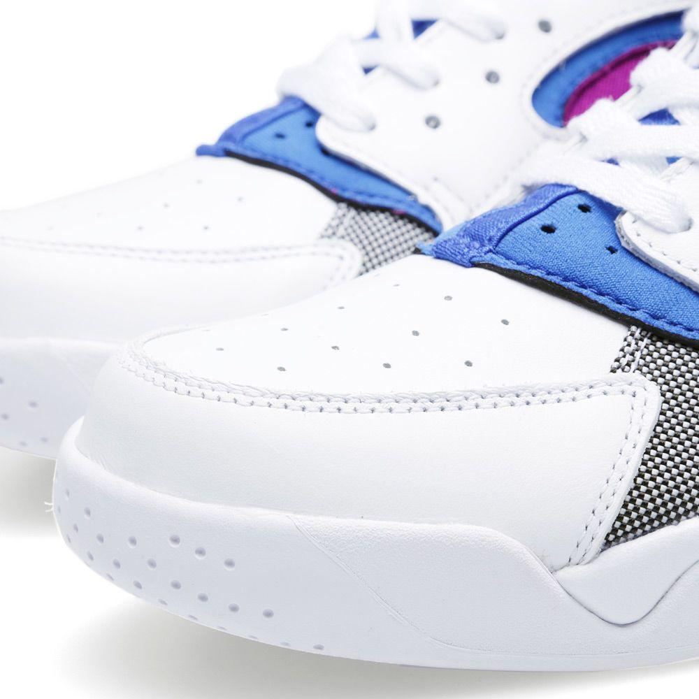 13030d58f703 Nike Air Flight Huarache PRM QS White