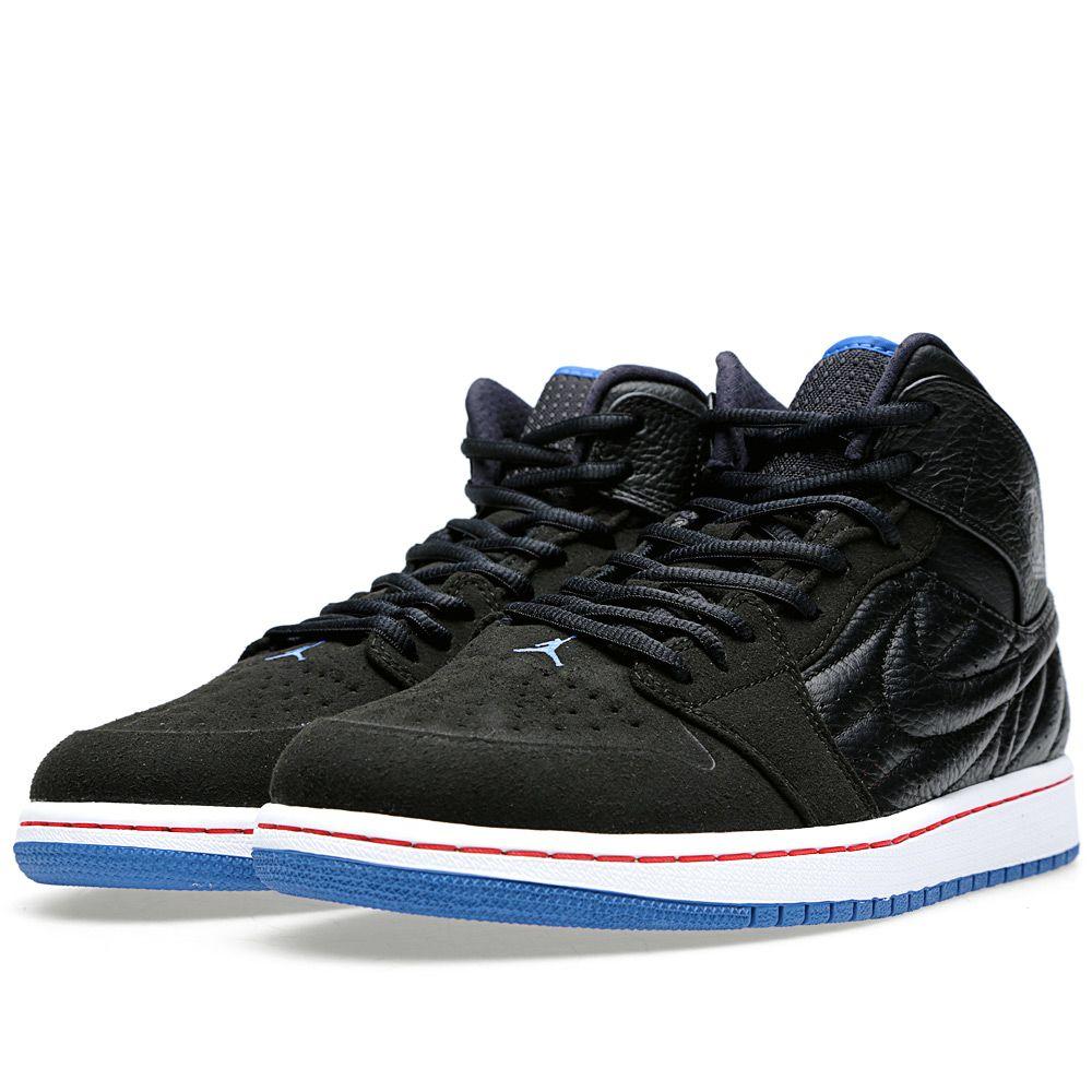 a5786595f3e Nike Air Jordan 1 Retro '99 Black & Sport Blue | END.